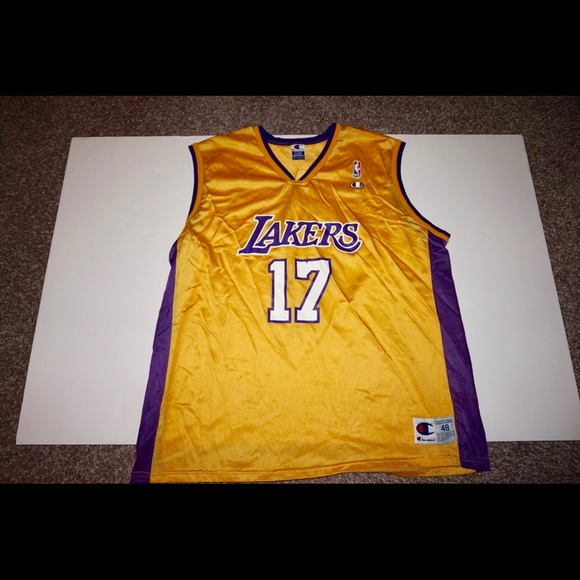 777332eee Champion Other - Lakers Champion Jersey Rick Fox